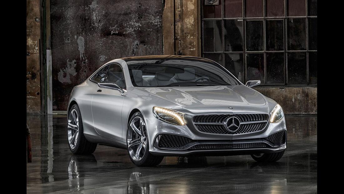 Mercedes S-Klasse Coupé Concept