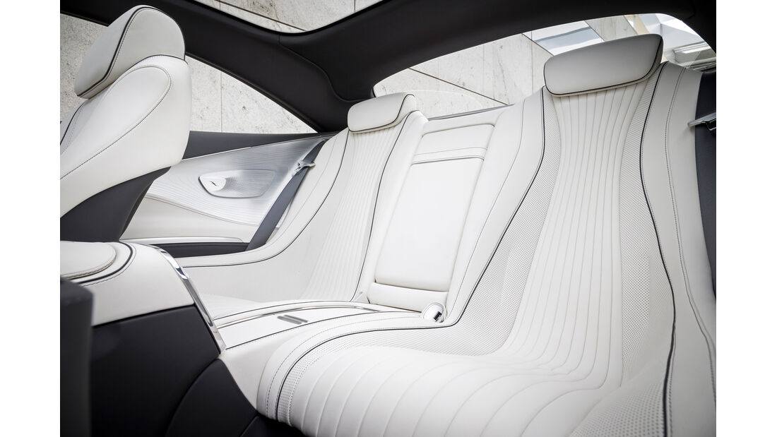 Mercedes S-Klasse Coupé Concept, Fondsitze