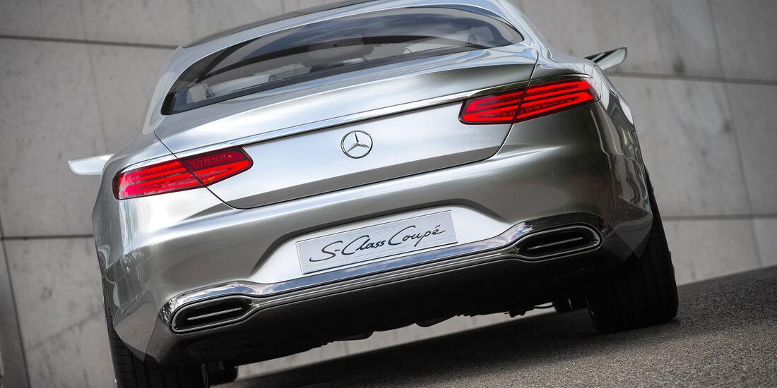 Mercedes S-Klasse Coupé Concept, Heckansicht