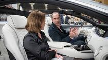 Mercedes S-Klasse Coupé Concept, Innenraum