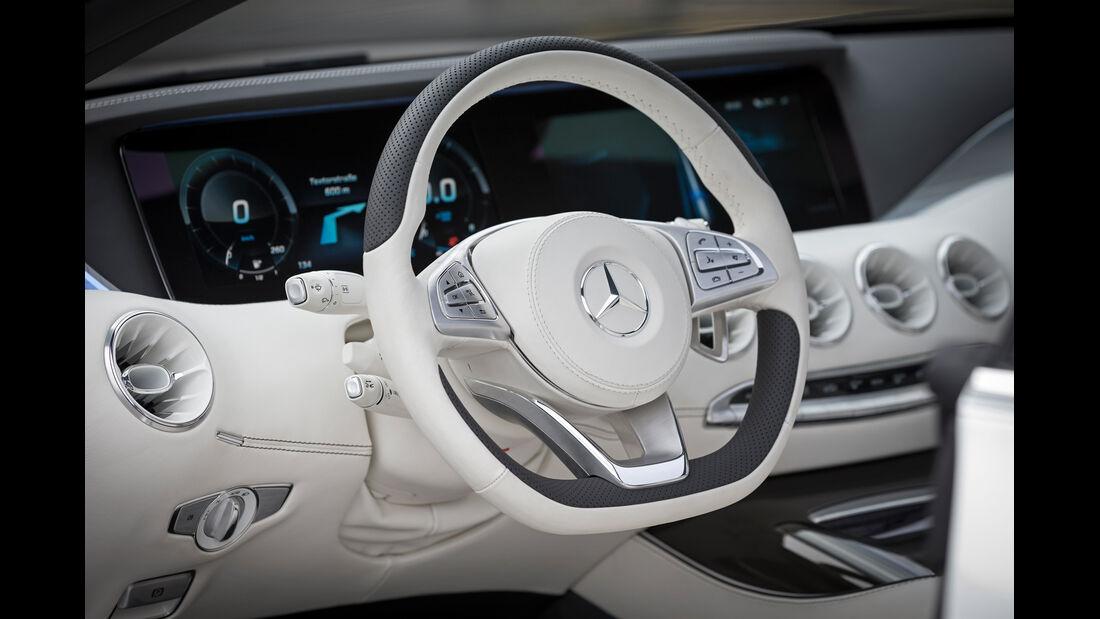 Mercedes S-Klasse Coupé Concept, Lenkrad