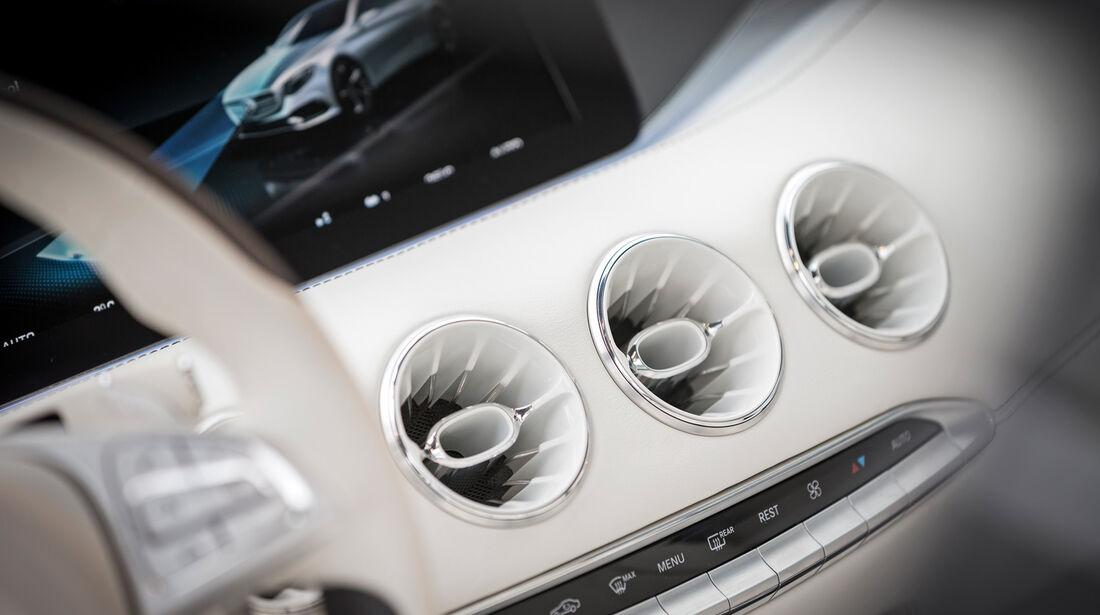 Mercedes S-Klasse Coupé Concept, Luftausstromer