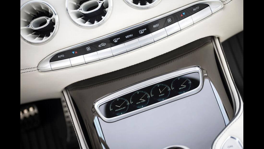 Mercedes S-Klasse Coupé Concept, Mittelkonsole