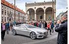 Mercedes S-Klasse Coupé Concept, München, Seitenansicht