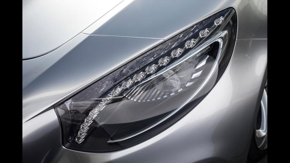 Mercedes S-Klasse Coupé Concept, Scheinwerfer