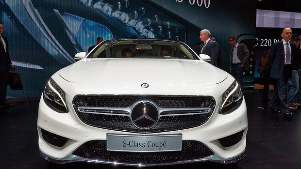 Mercedes S-Klasse Coupé, Genfer Autosalon, Messe, 2014