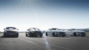 Mercedes S-Klasse Coupé und Cabrio und AMG