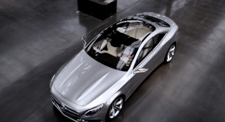 Mercedes S-Klasse Coupe Concept, IAA