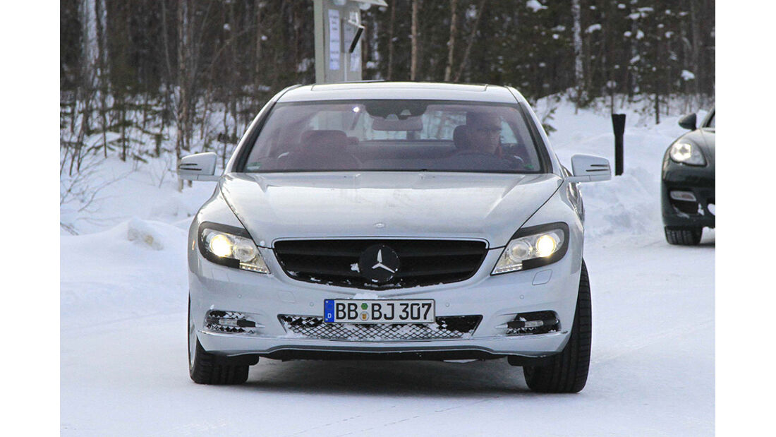 Mercedes S-Klasse Coupe Erlkönig