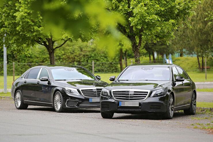 Mercedes S-Klasse Erlkönig