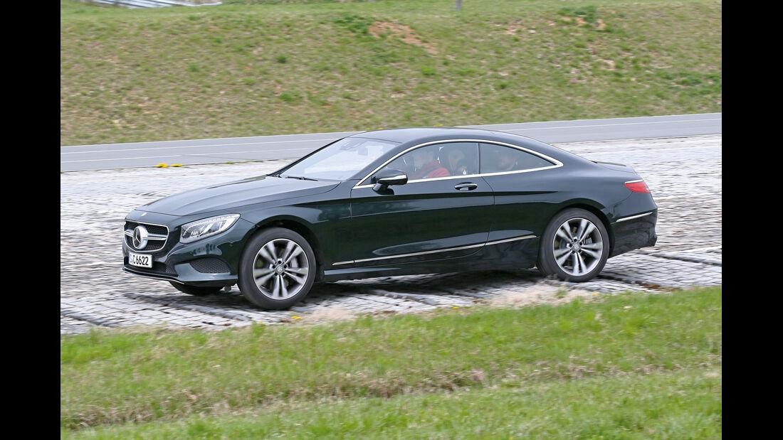 Mercedes S-Klasse, Fahrwerksvergleich