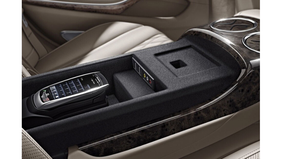 Mercedes S-Klasse, Fond, Business-Telefon