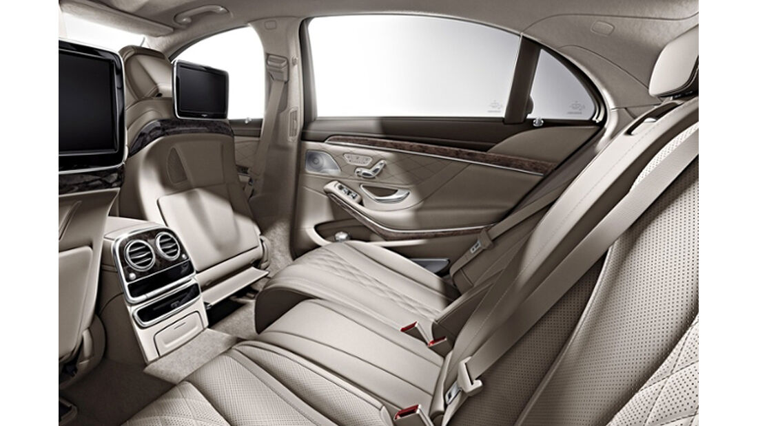 Mercedes S-Klasse, Fond, Chauffeur-Paket