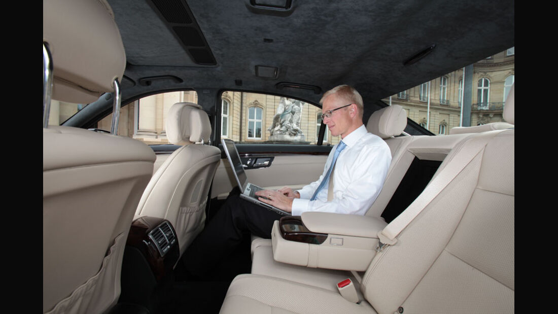 Mercedes S-Klasse, Fond, Innenraum, Einzelsitze