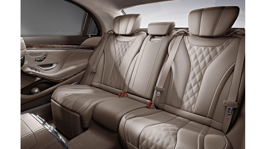 Mercedes S-Klasse, Fond, Sonnenschutz-Paket