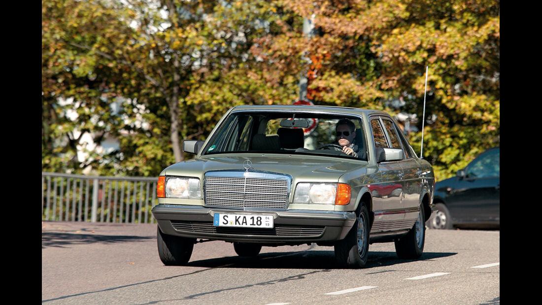 Mercedes S-Klasse, Front