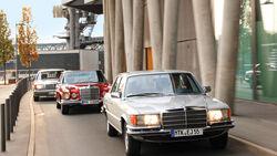 Mercedes S-Klasse, Frontansicht