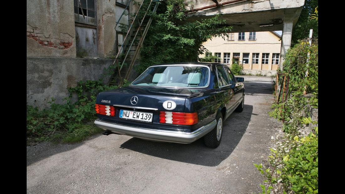 Mercedes S-Klasse, Heck