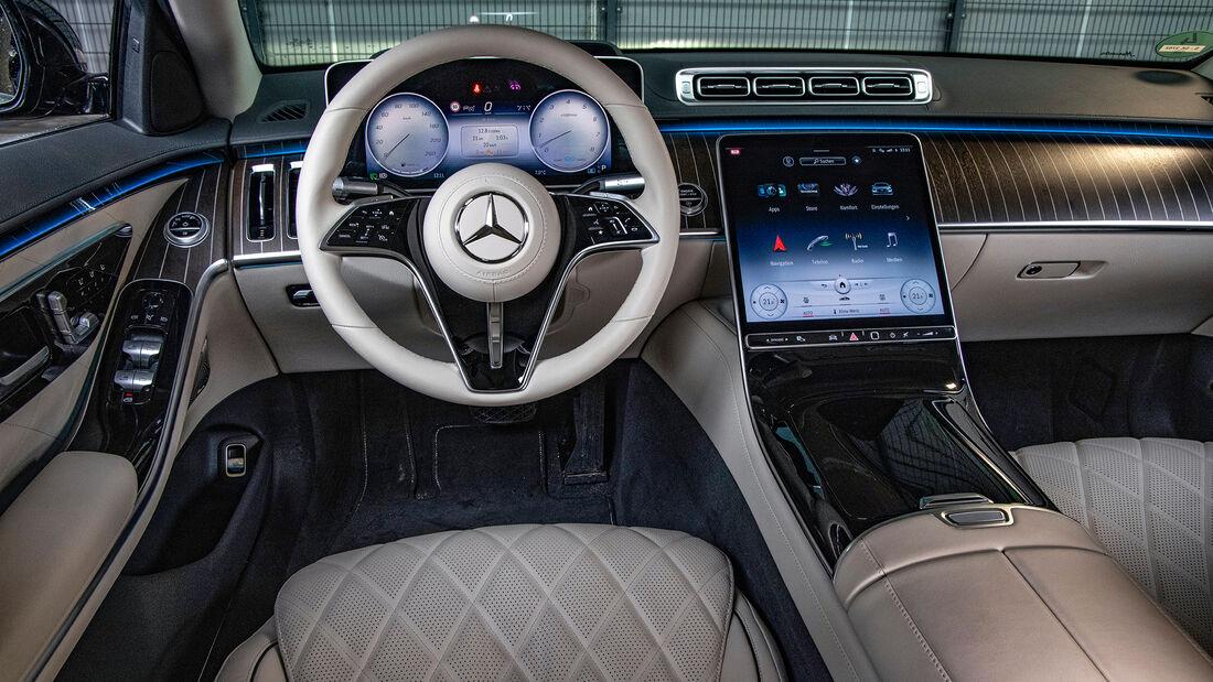 Mercedes S-Klasse, Interieur