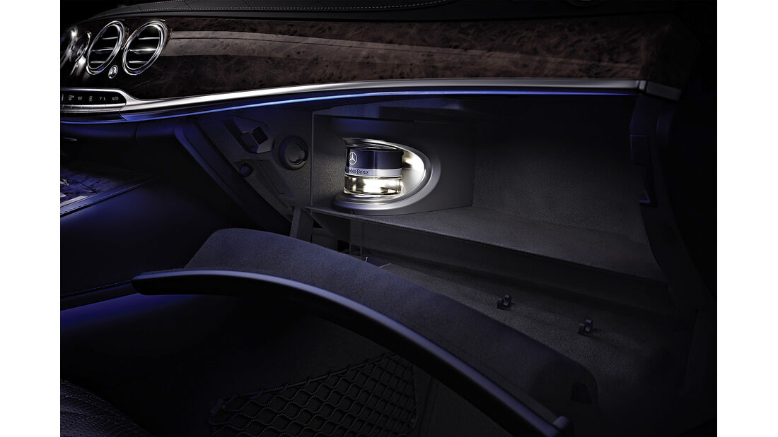 Mercedes S-Klasse Interieur, Beduftung