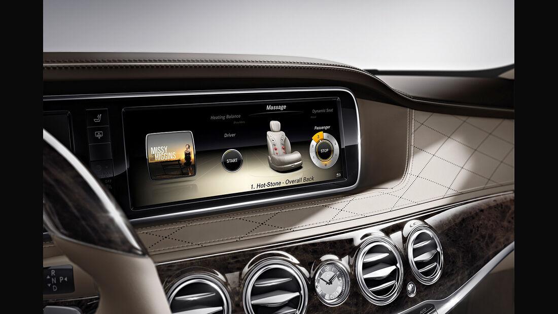Mercedes S-Klasse Interieur, Display