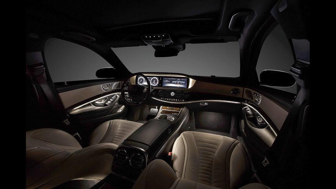 Mercedes S-Klasse Interieur, Innenraum, Cockpit