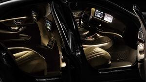 Mercedes S-Klasse Interieur, Innenraum