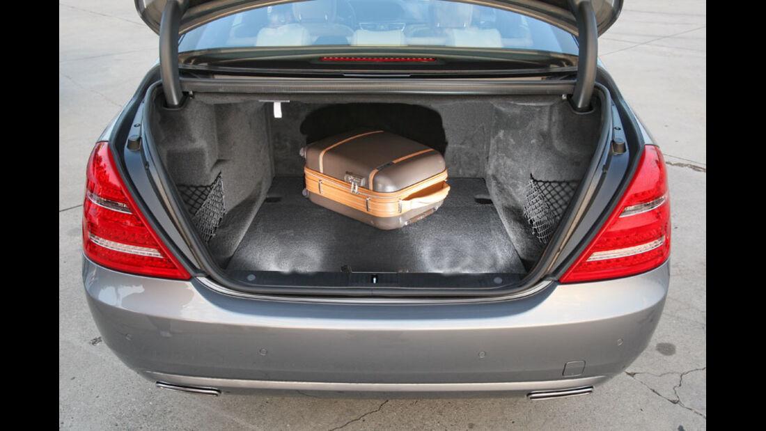 Mercedes S-Klasse, Kofferraum