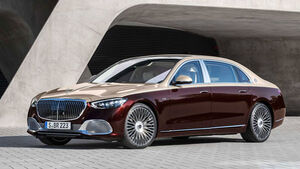 Mercedes S-Klasse Maybach S 680 V12