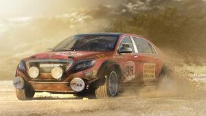 Mercedes S-Klasse - Moderne Rallye-Legenden