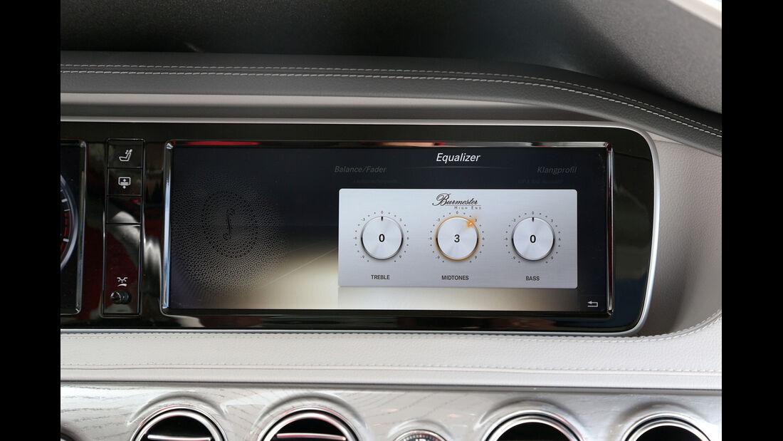 Mercedes S-Klasse, Navi, Monitor