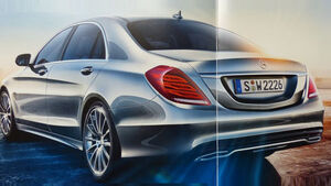 Mercedes S-Klasse Prospekt