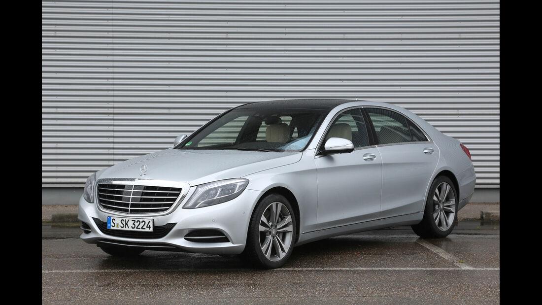 Mercedes S-Klasse, Seitenansicht