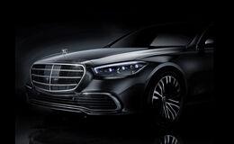 Mercedes S-Klasse Teaser