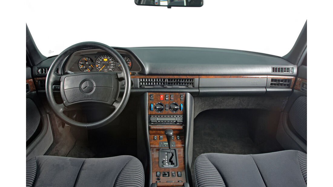 Mercedes - S-Klasse - W126 - Lenkrad - Innenraum