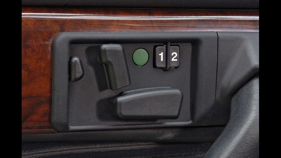 Mercedes S-Klasse, W126, elektrische Sitzverstellung