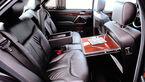 Mercedes S-Klasse, W140, Fond, Rückbank, klapptisch