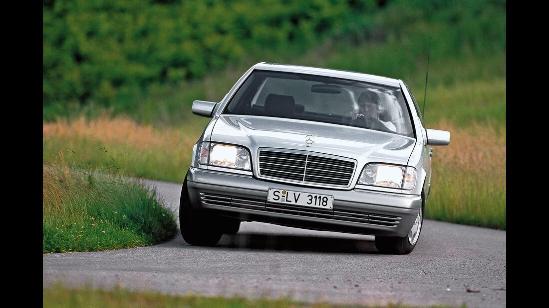 Mercedes S-Klasse W140, Frontansicht