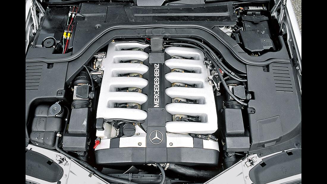 Mercedes S-Klasse W140, Motor