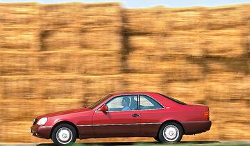 Mercedes S-Klasse W140, Seitenansicht