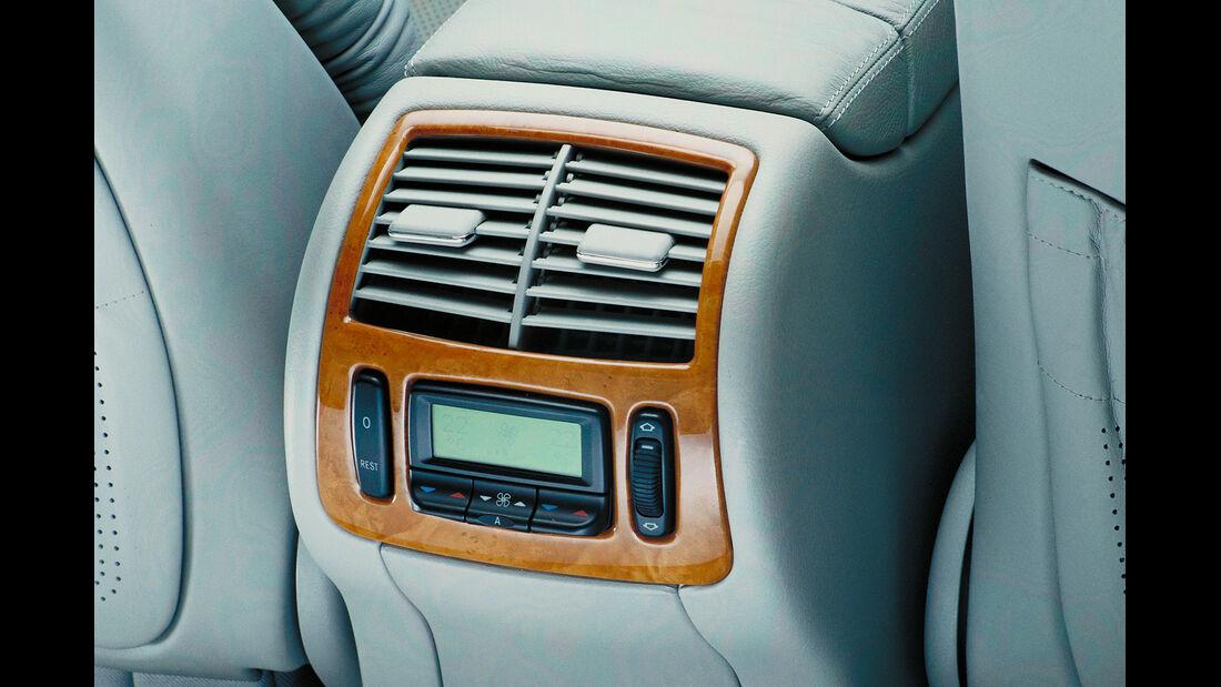 Mercedes S-Klasse, W220, Fond, Klimaanlage