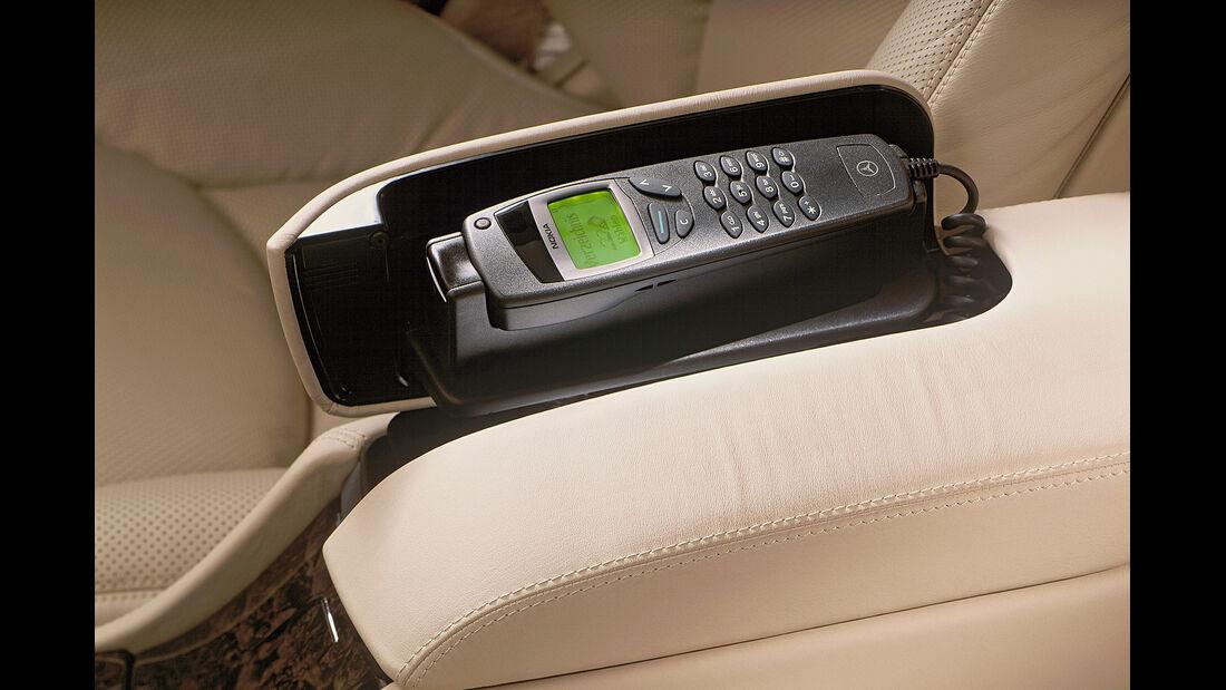 Mercedes S-Klasse, W220, Mittelarmlehne, Telefon
