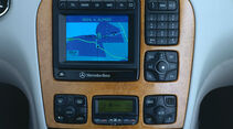 Mercedes S-Klasse, W220, Mittelkonsole, Navigation, Display