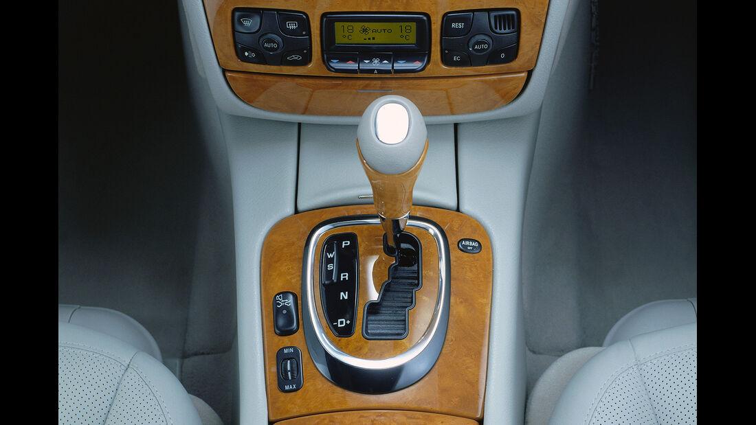 Mercedes S-Klasse, W220, Mittelkonsole, Schalthebel