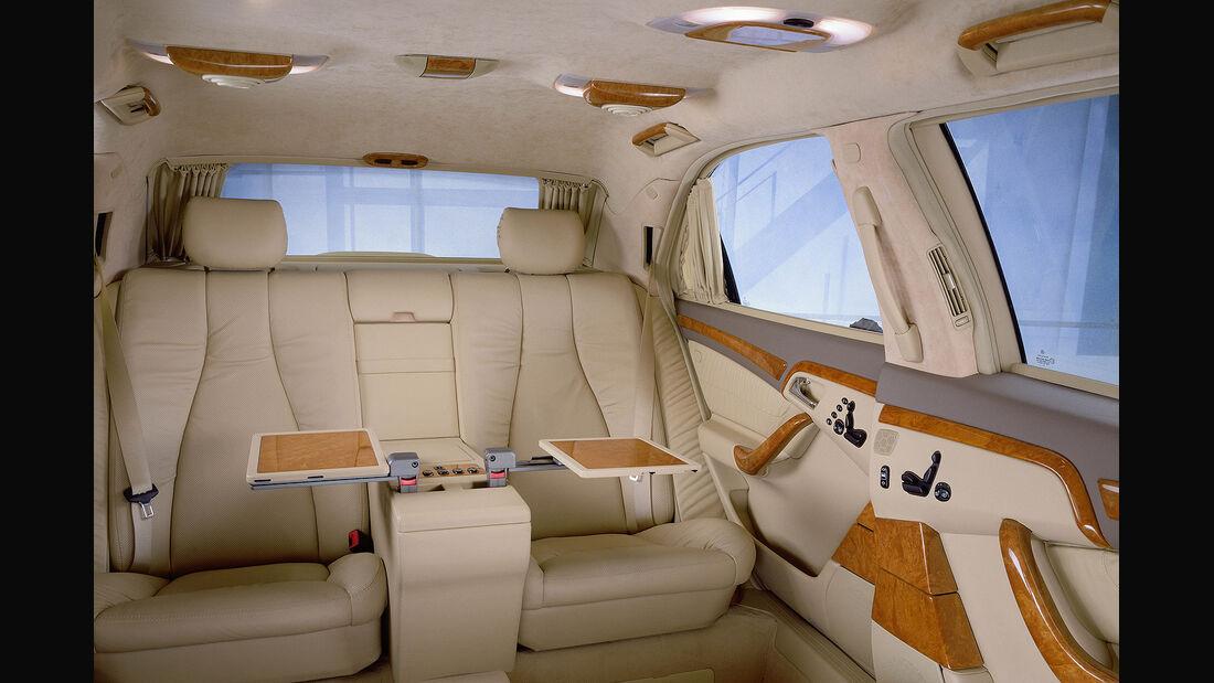 Mercedes S-Klasse, W220, Pullman, Fond
