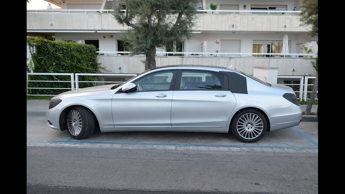 Mercedes S-Klasse XXL Erlkönig
