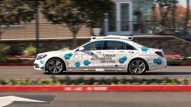 Mercedes S-Klasse autonomes Fahren