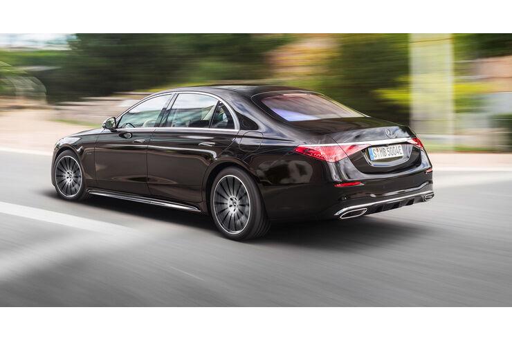 Mercedes S-Klasse 2020 (W223): Ungetarnte Bilder, Daten ...