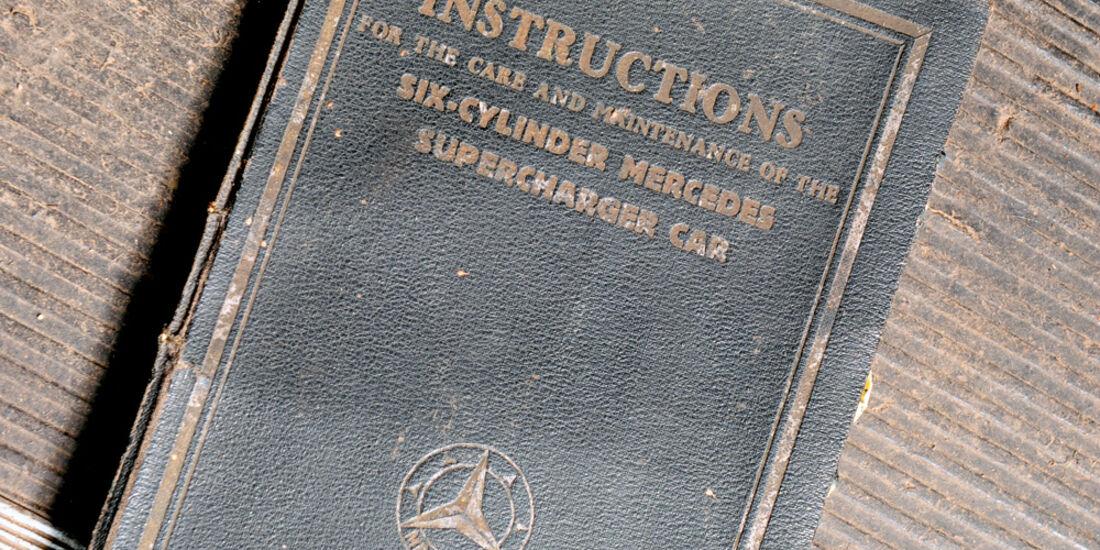 Mercedes S Kompressor, Bedienungsanleitung