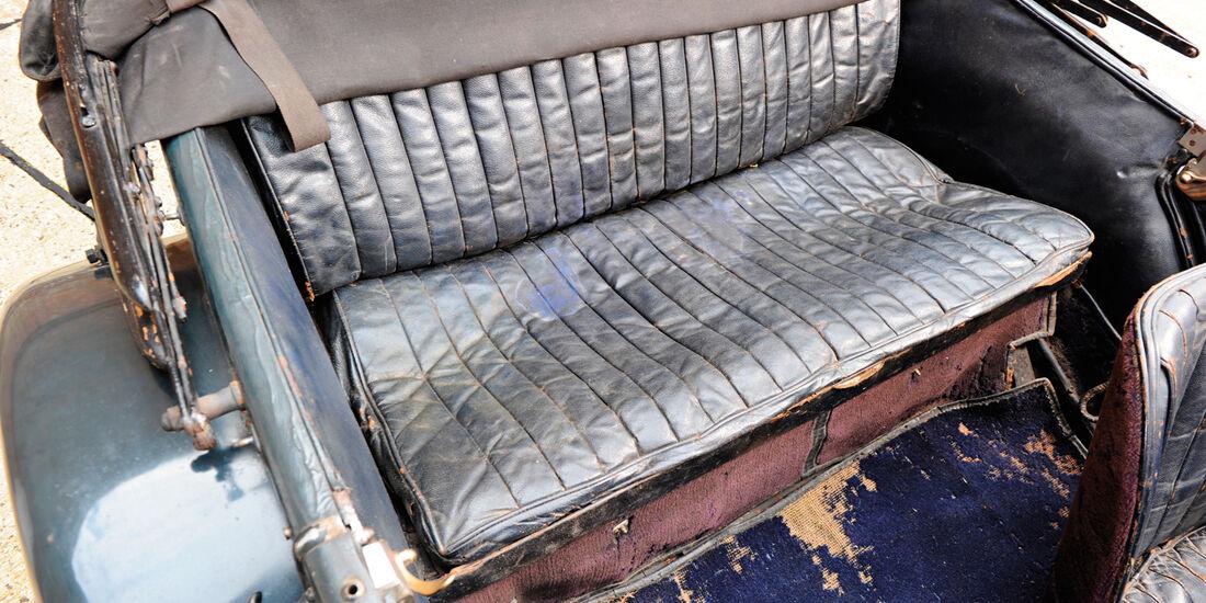Mercedes S Kompressor, Rücksitz, Rückbank